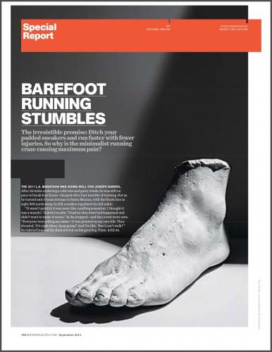 Barefoot Running Stumbles - Thumbnail